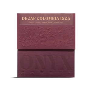 Onyx Coffee Lab Decaf Colombia Inza